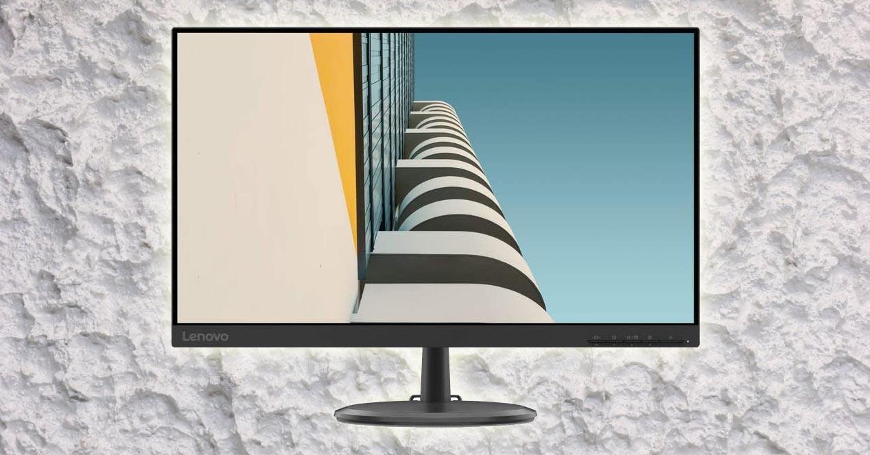 Monitor Lenovo de frente