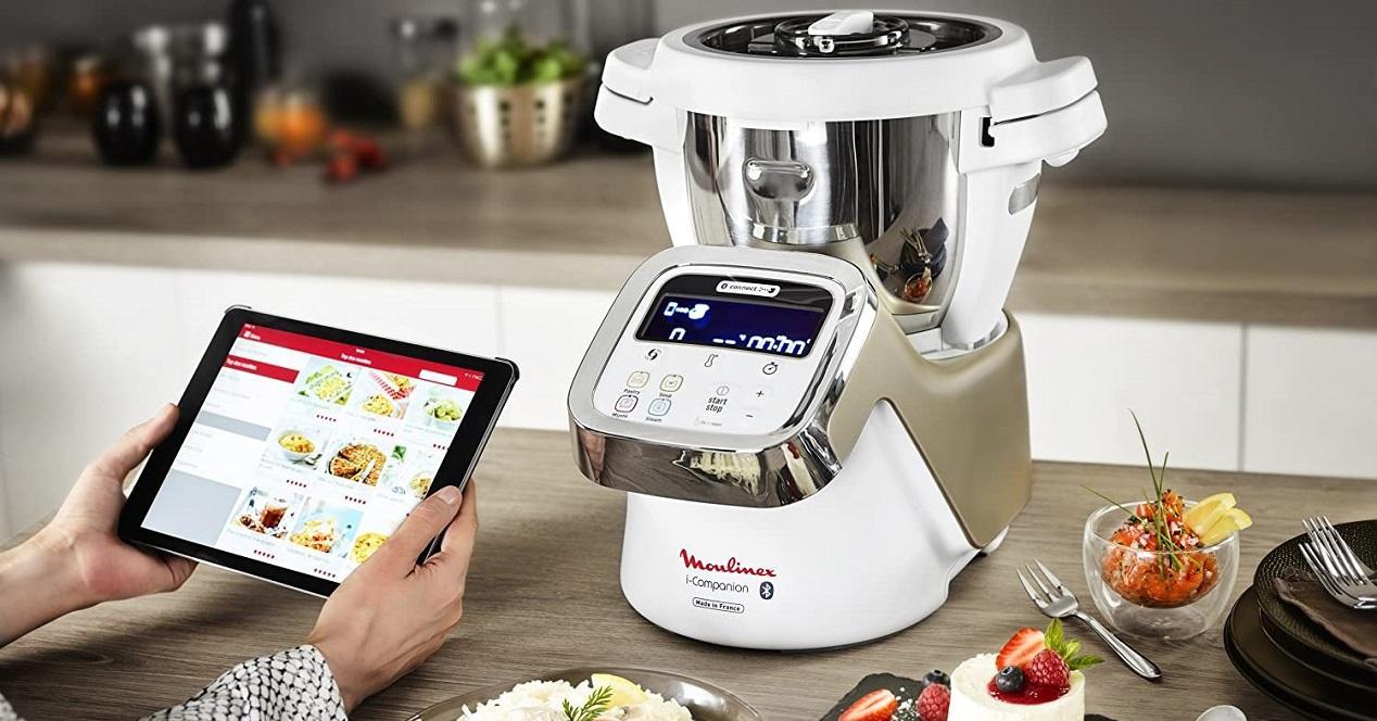 Robot de cocina Moulinex i-Companion HF9001