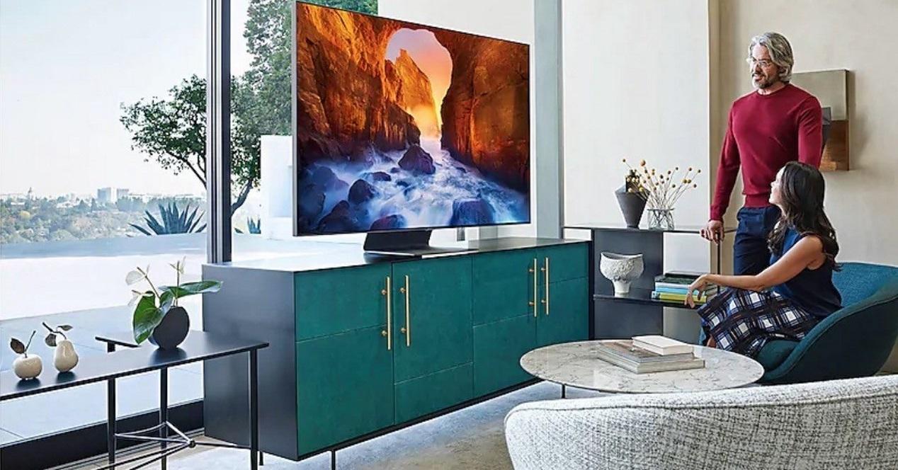 Smart TV Samsung QLED Q90R