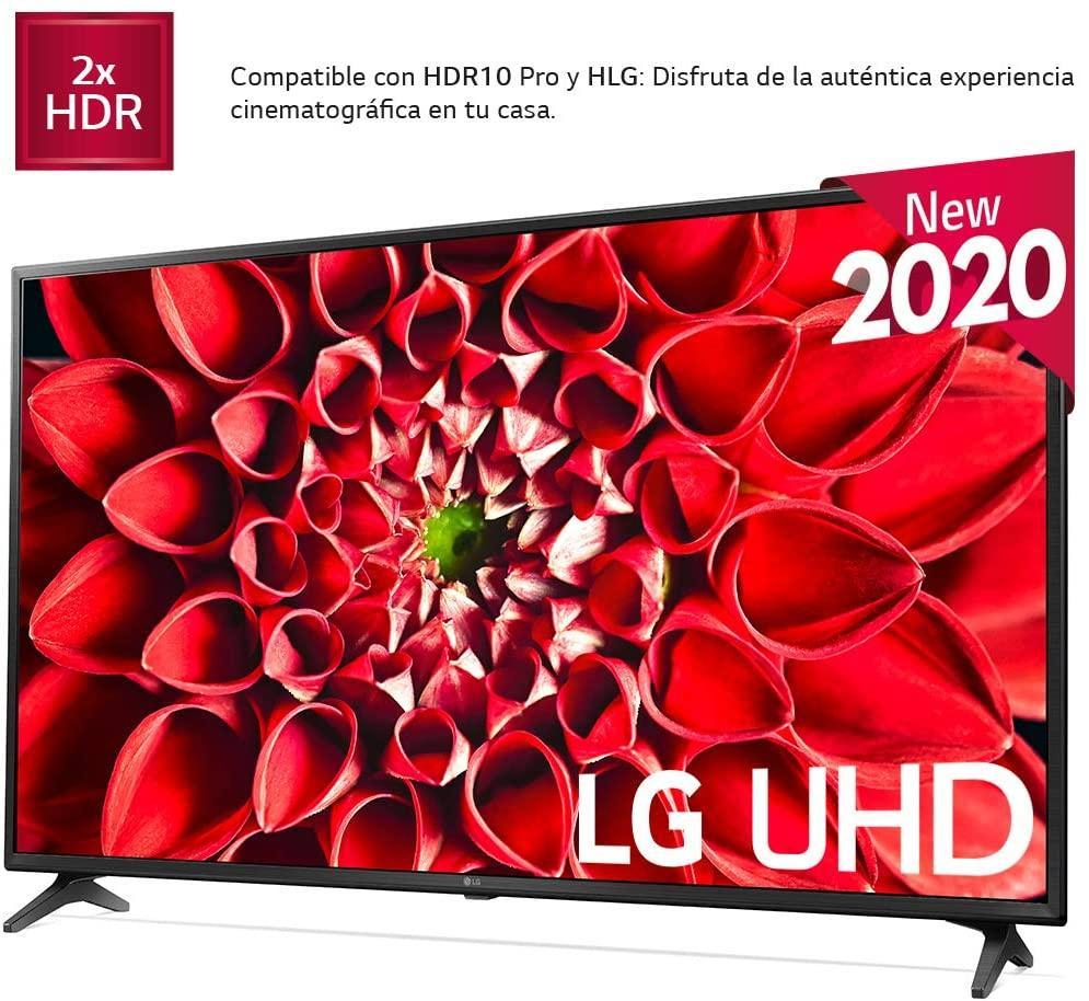 Imagen lateral de Smart TV LG 43UN7100