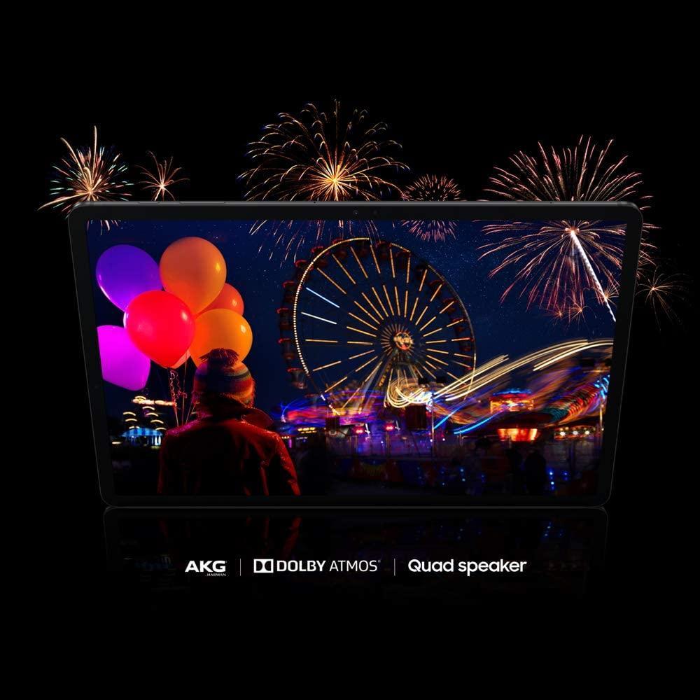 Samsung Galaxy Tab S7 por delante