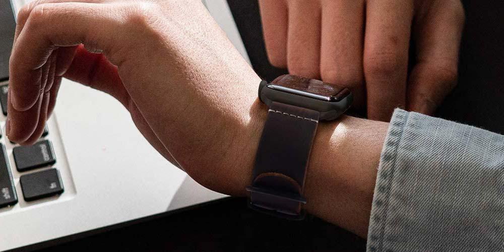 Uso de correa con el Apple Watch Series 6
