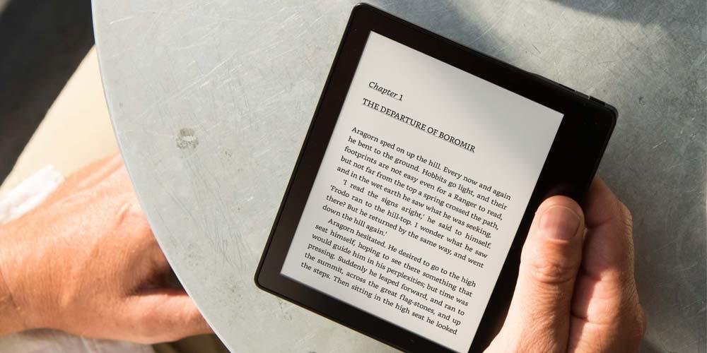 Uso del eReader Kindle Oasis