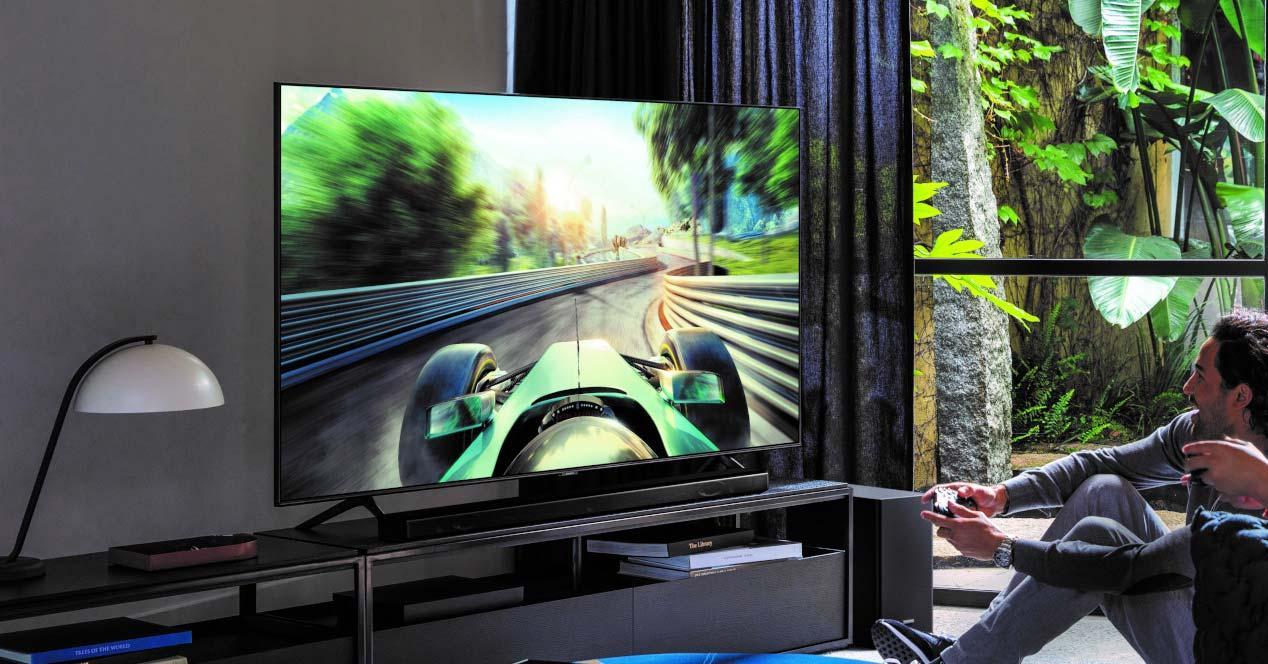 Smart TV Samsung en el salón