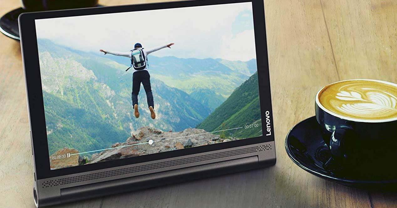Uso del tablet Lenovo Yoga Tab 3 Plus