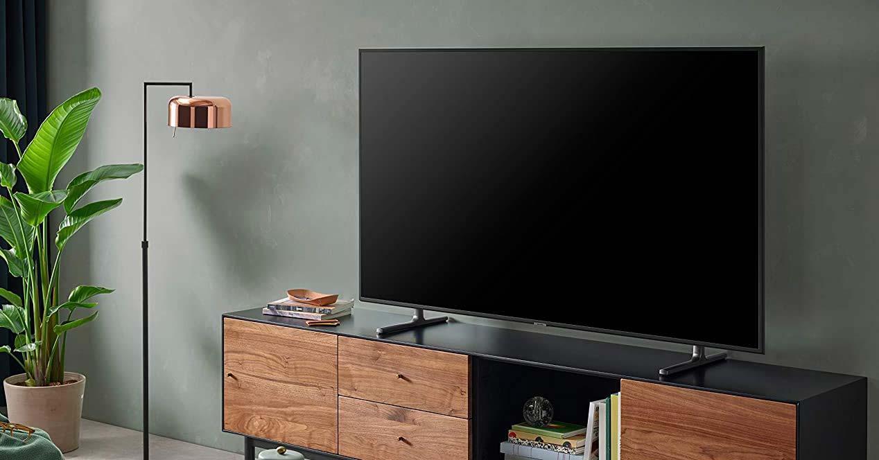 Uso de la Smart TV Samsung UE49RU8005