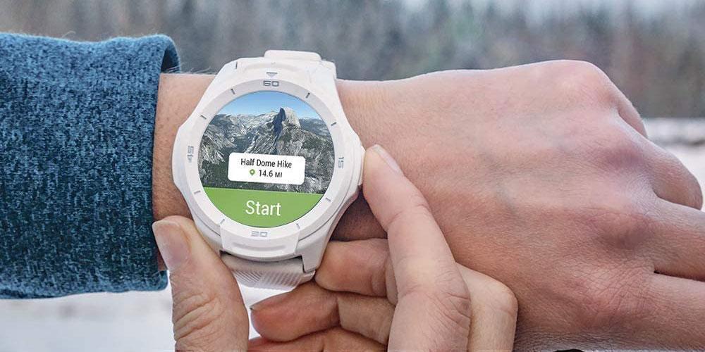 uso del smartwatch Ticwatch S2