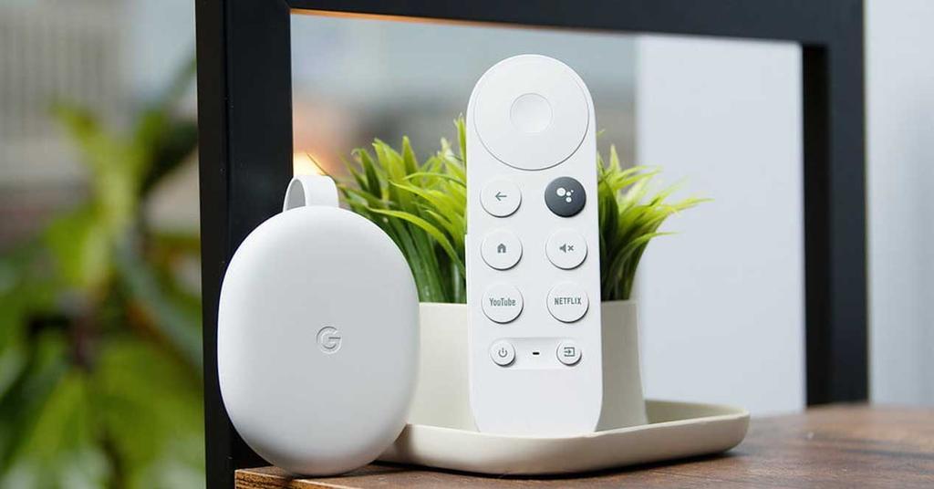 Chromecast con mando