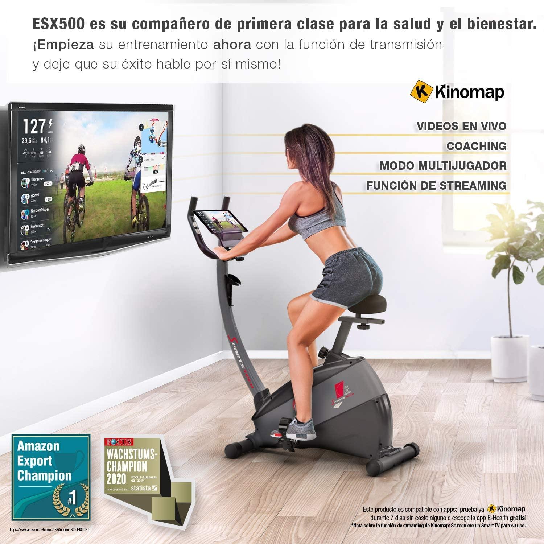 Bicicleta estática Sportstech ESX500