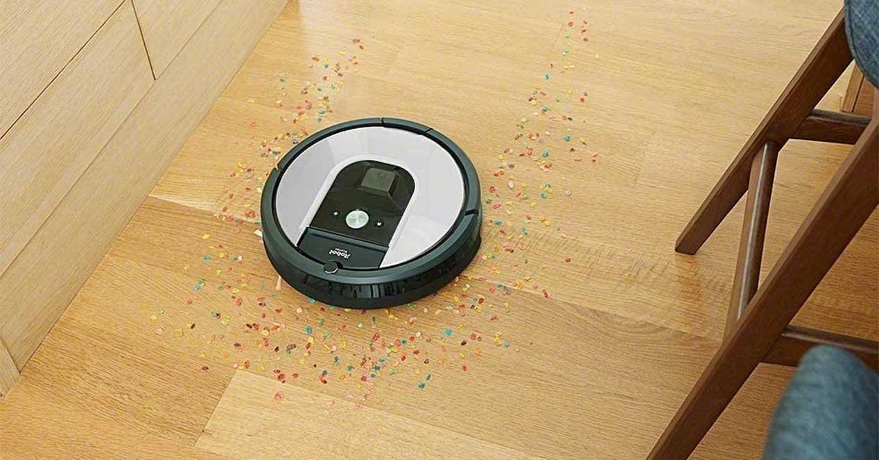 iRobot Roomba 971 trabajando