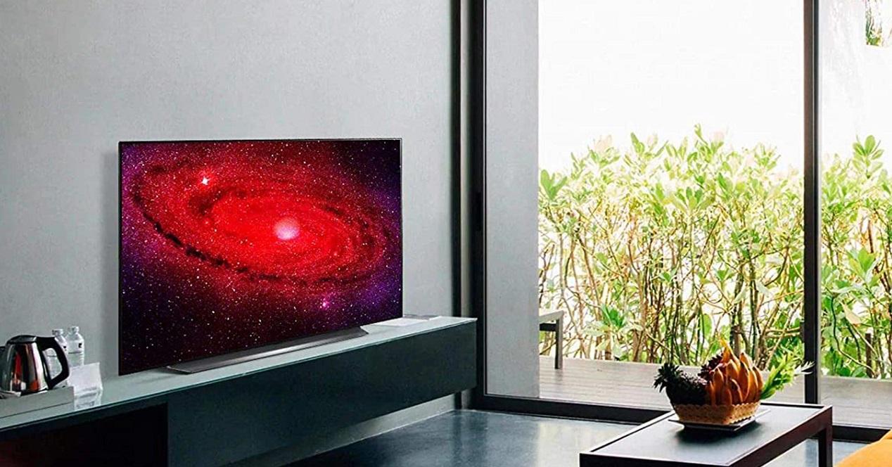 Imagen promocional de la Smart TV LG OLED CX 65