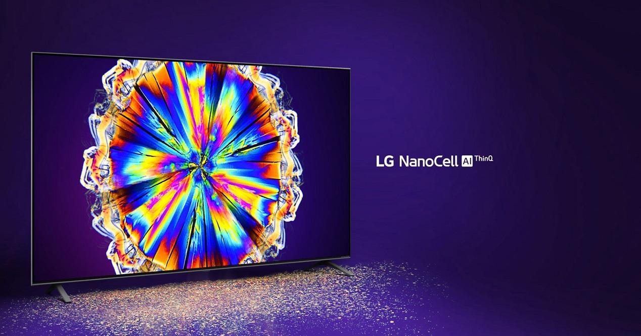 Smart TV LG Nanocel 806