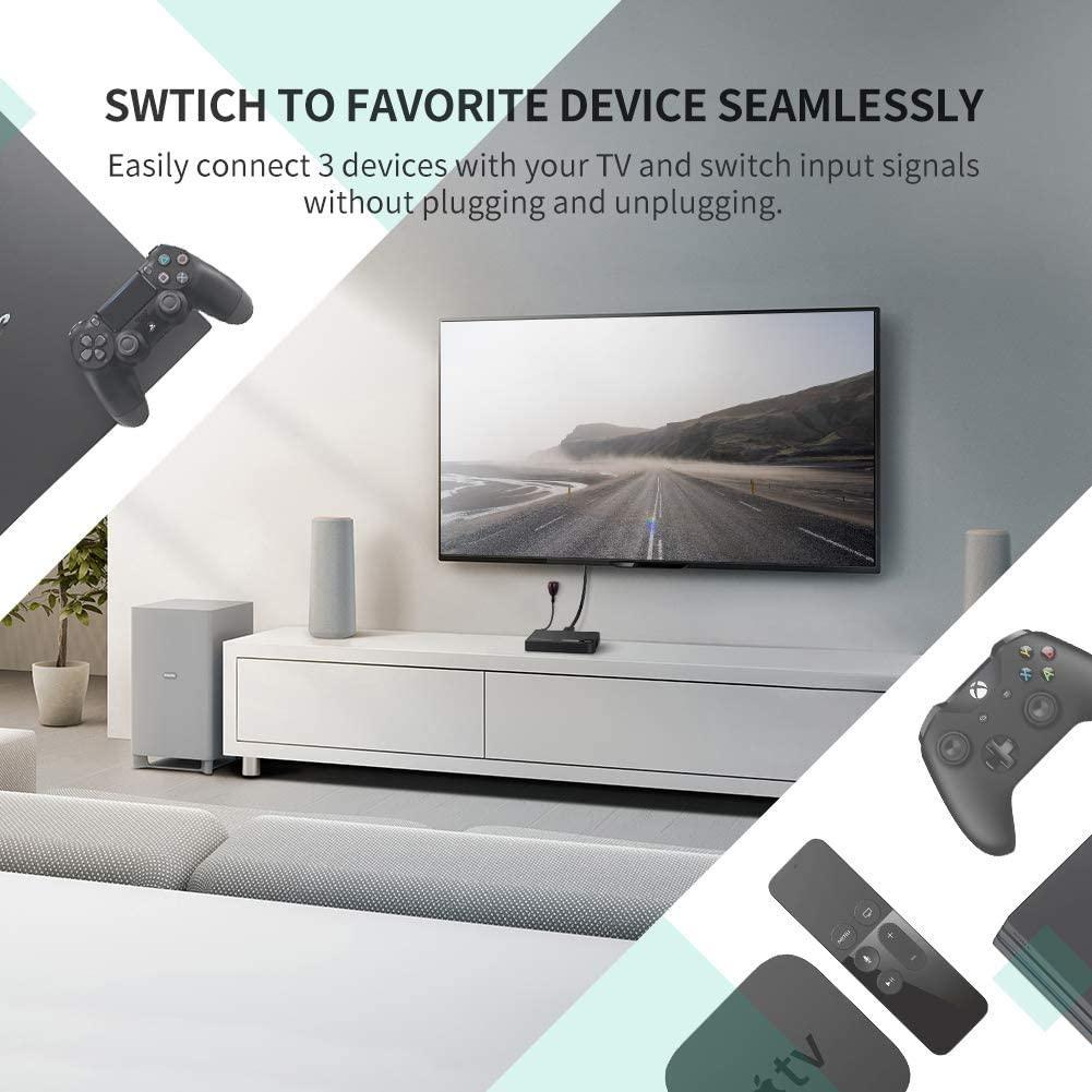 Cambiar HDMI UGREEN
