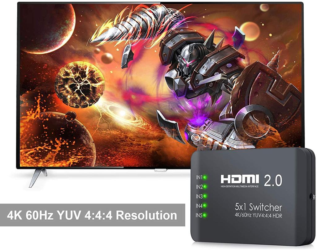 Conmutador HDMI de Neoteck