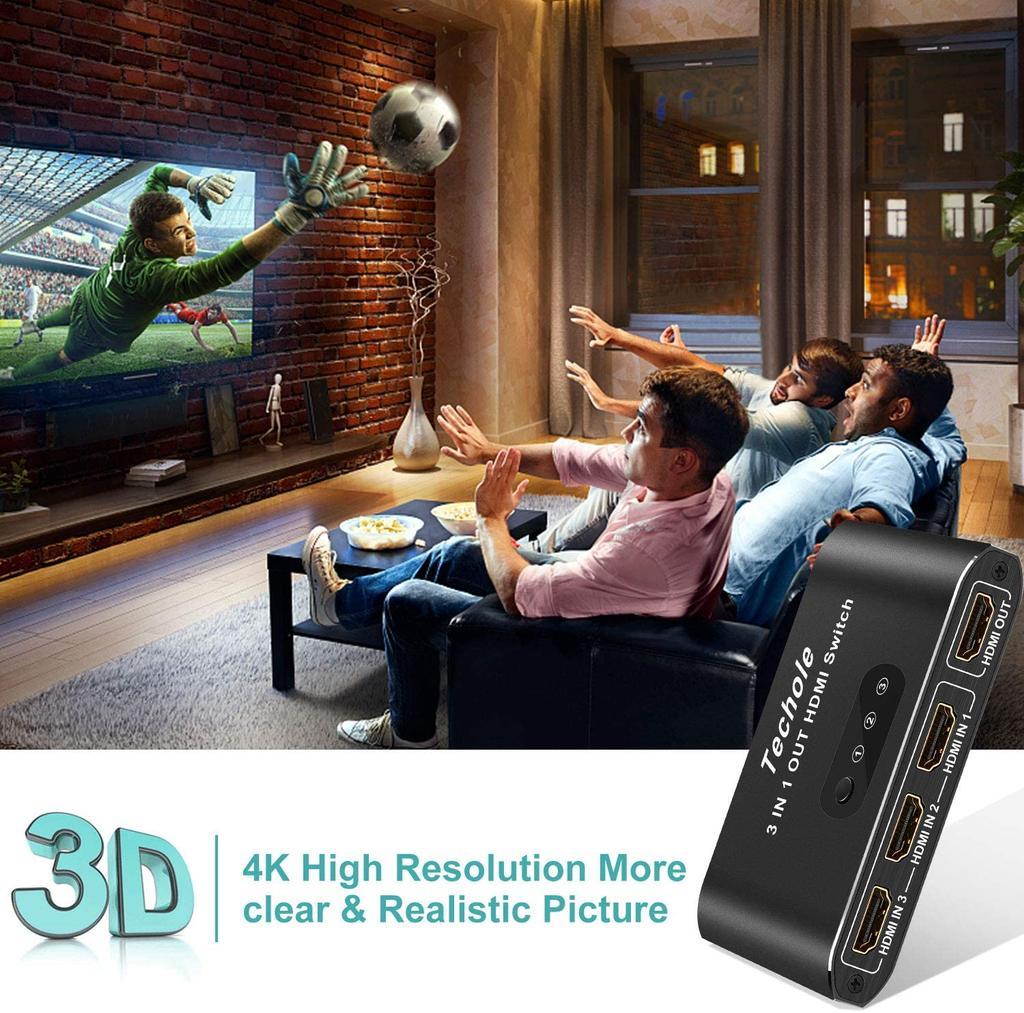 Conmutador HDMI 4K