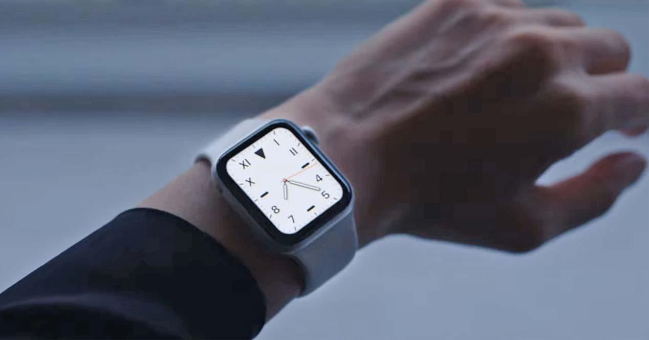 Uso del smartwatch Apple Watch