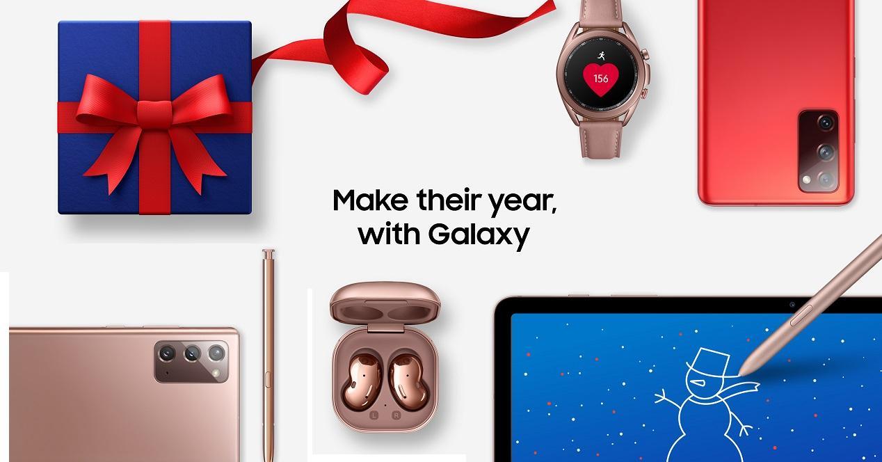 Ecosistema navidad Samsung