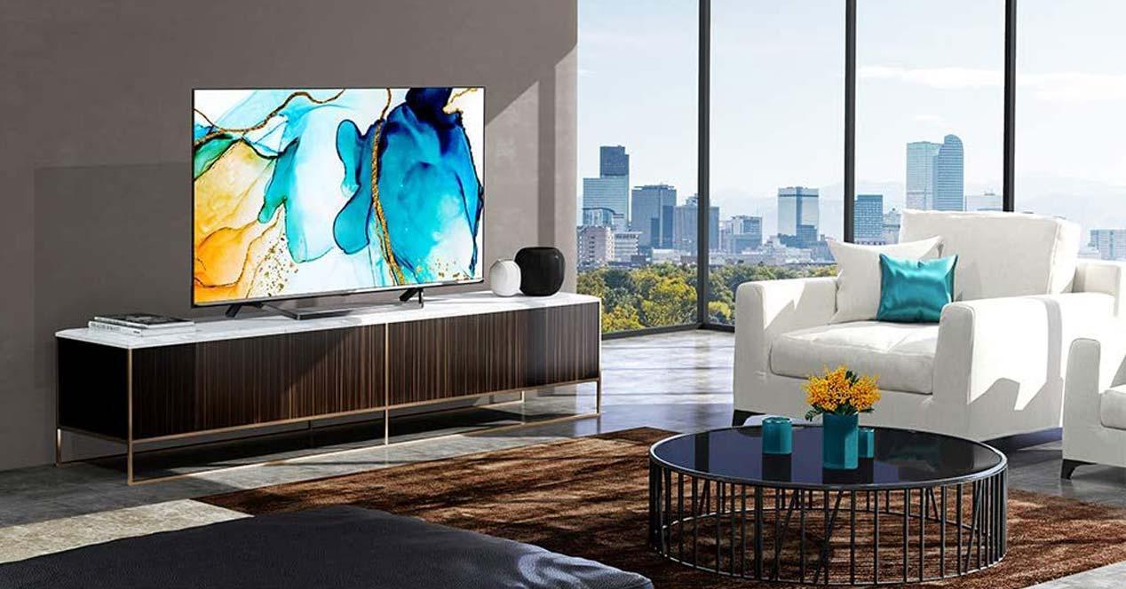 Uso de una Smart TV Hisense 4K