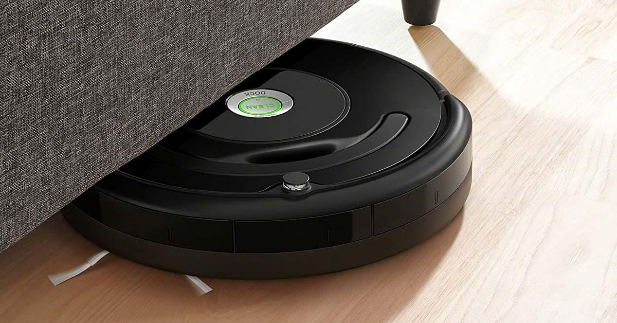 Uso del aspirador Roomba 676