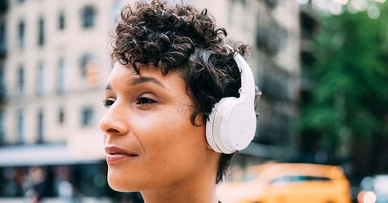 Uso de auriculares NFC