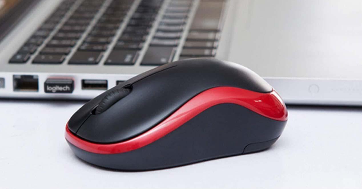 Uso de ratón inalámbrico con un portátil