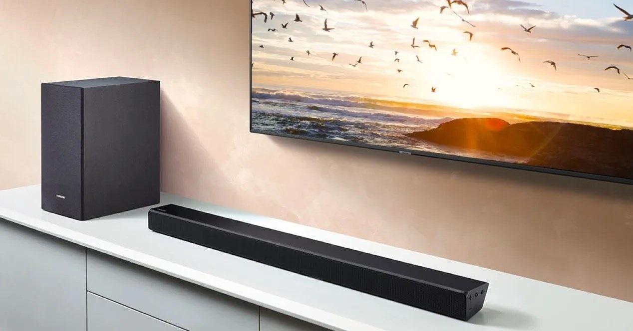 Barra de sonido Samsung HW-Q90R