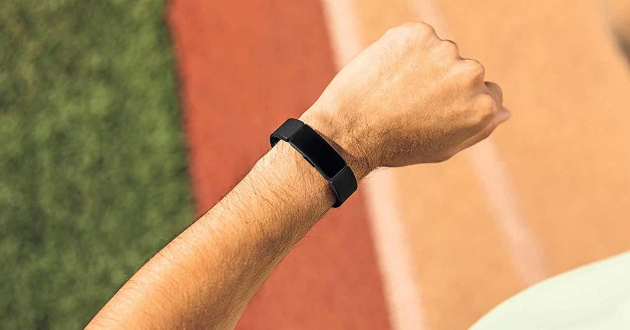 Uso de la smartband Fitbit Inspire HR