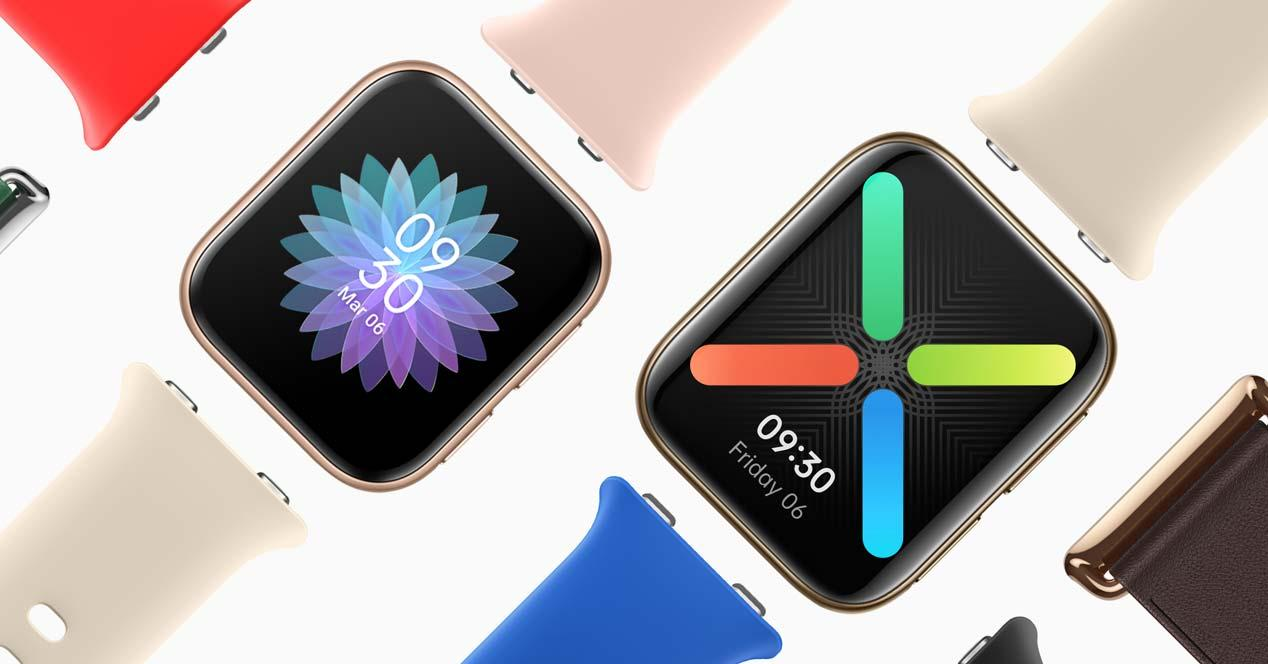 Colores smartwatch OPPO Watch