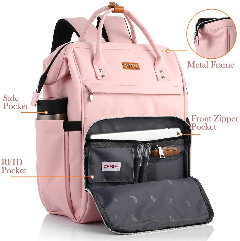 RJEU anti-theft backpack in front