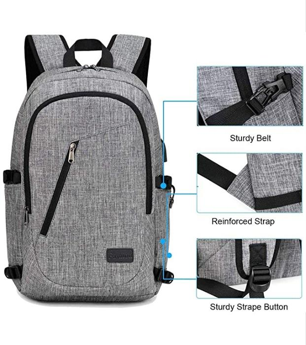 XQXA anti-theft backpack in front