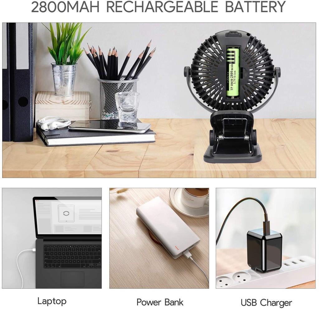Qhui Ventilador USB