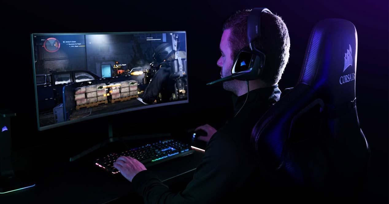 Uso de los auriculares Corsair Void Elite RGB