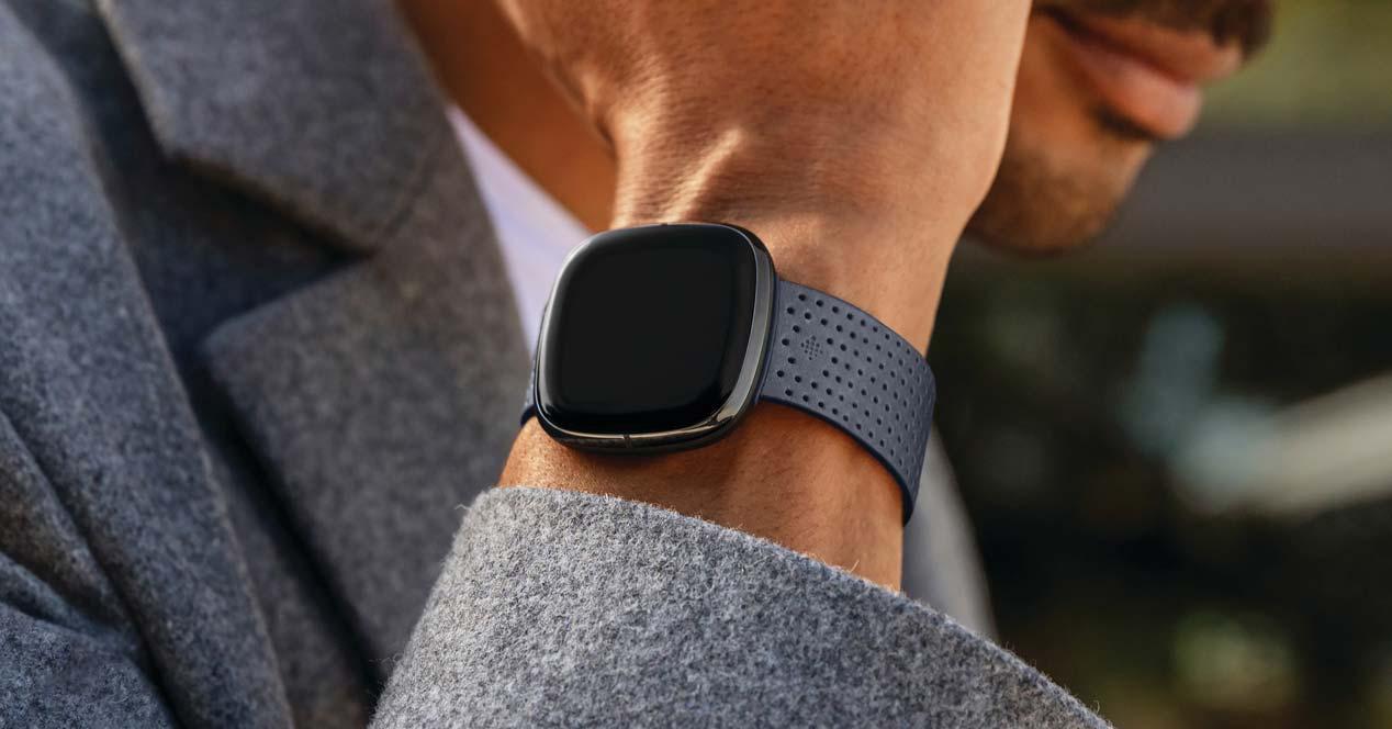 Usando el Fitbit Sense