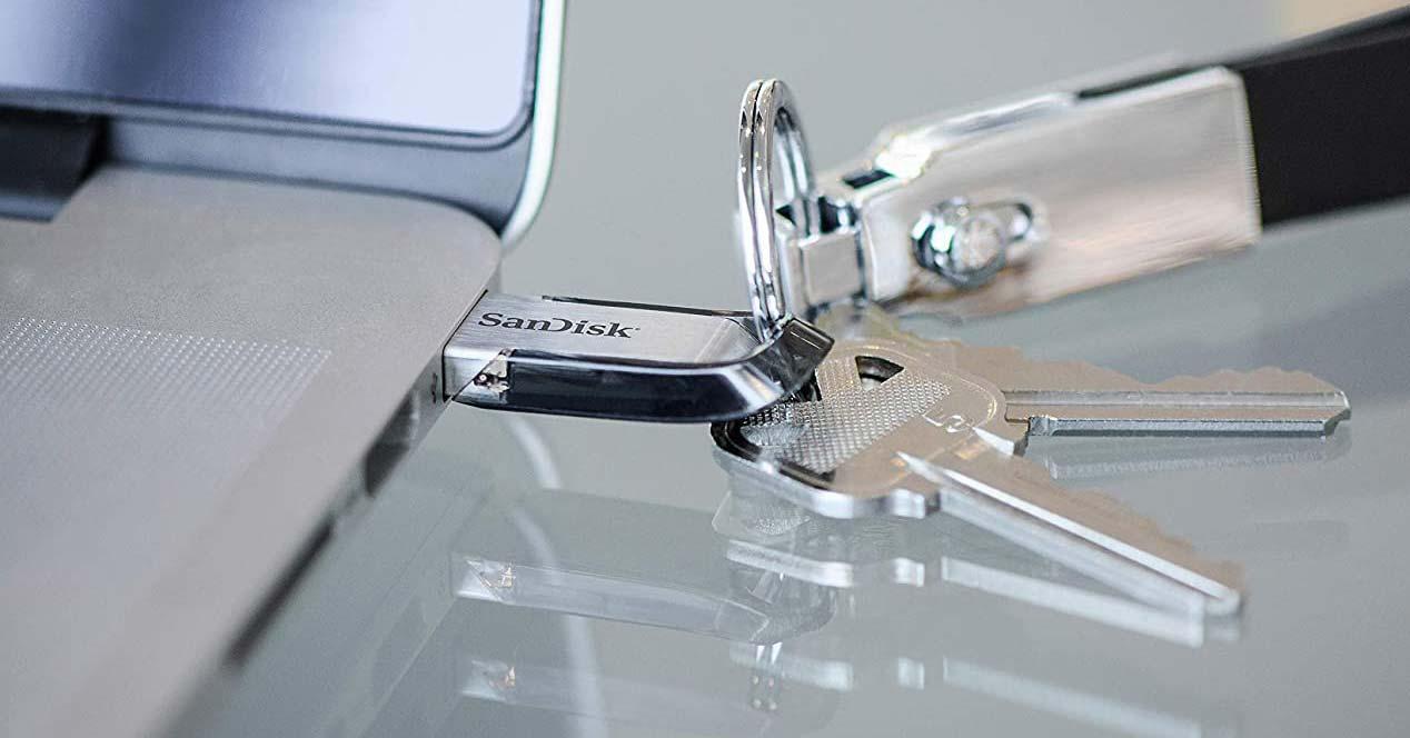 Uso de pendrive USB