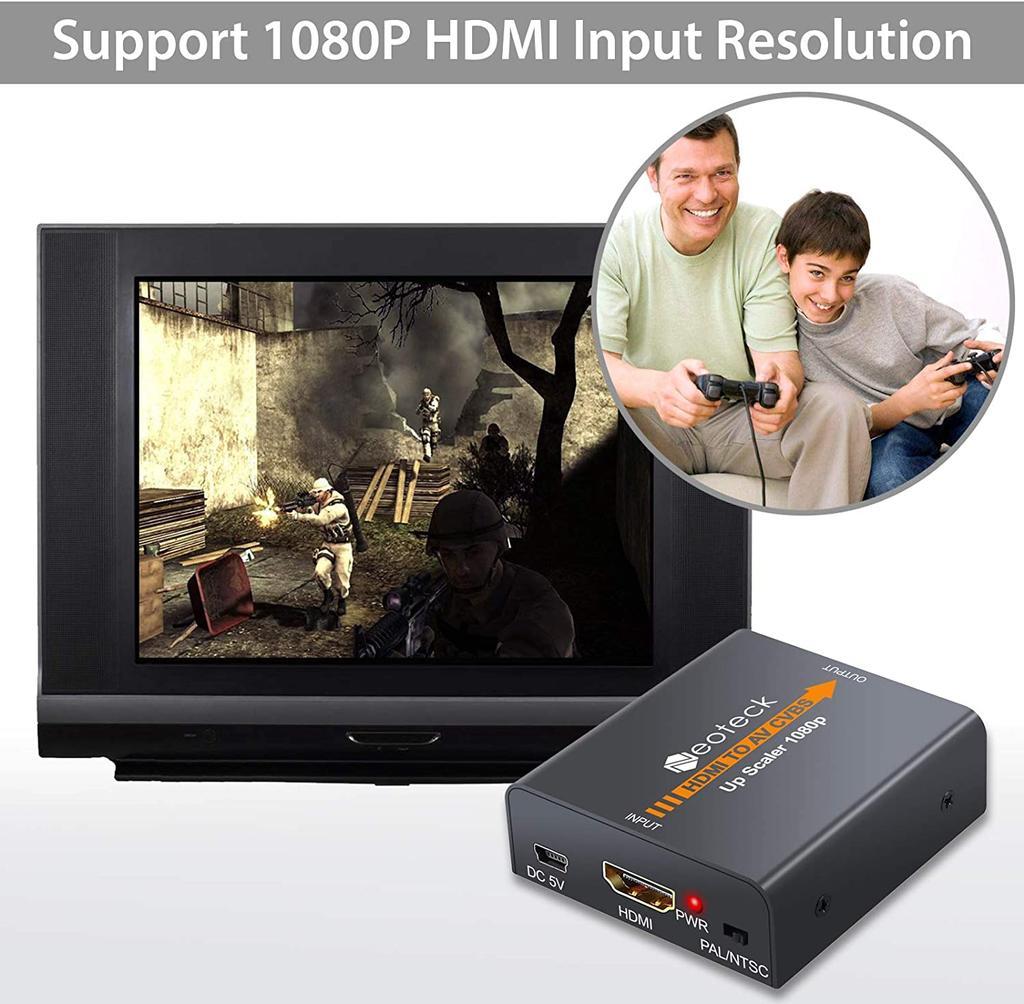 Neoteck HDMI a RCA para Chromecast