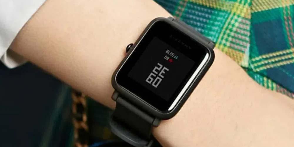 Uso del smartwatch Amazfit Bip U
