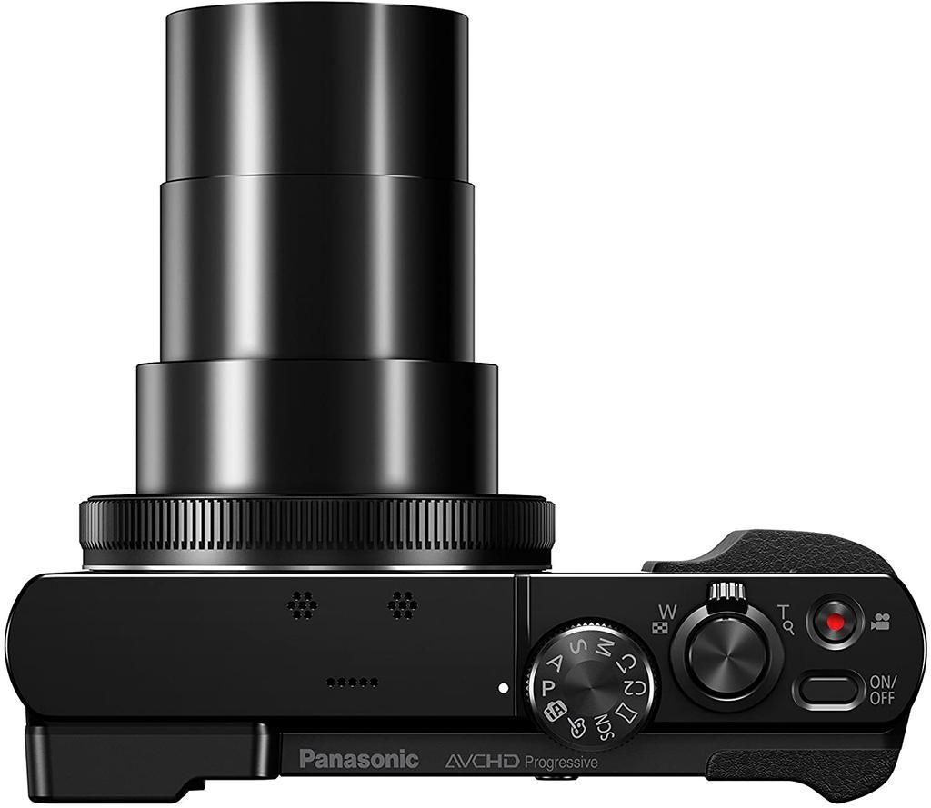Cámara Panasonic DMC-TZ70 con el zoom al máximo