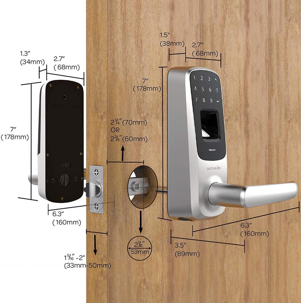 Cerradura inteligente Ultraloq UL3 BT