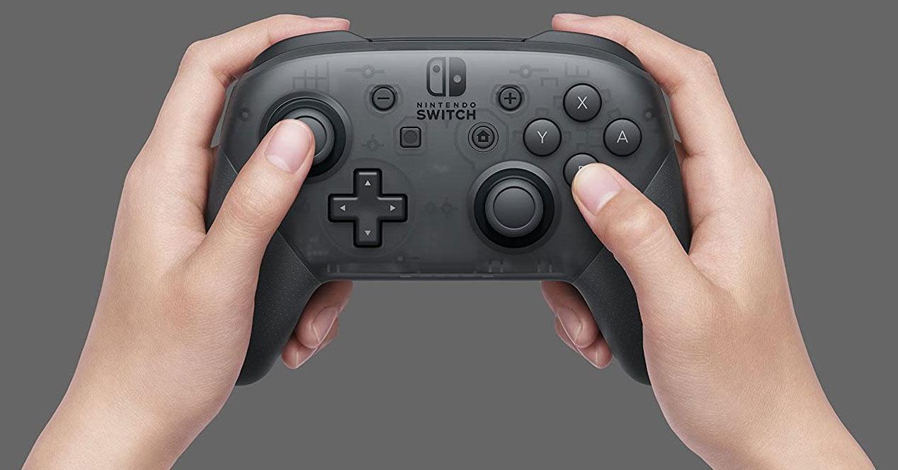 Uso del mando Pro-Controller de Nintendo