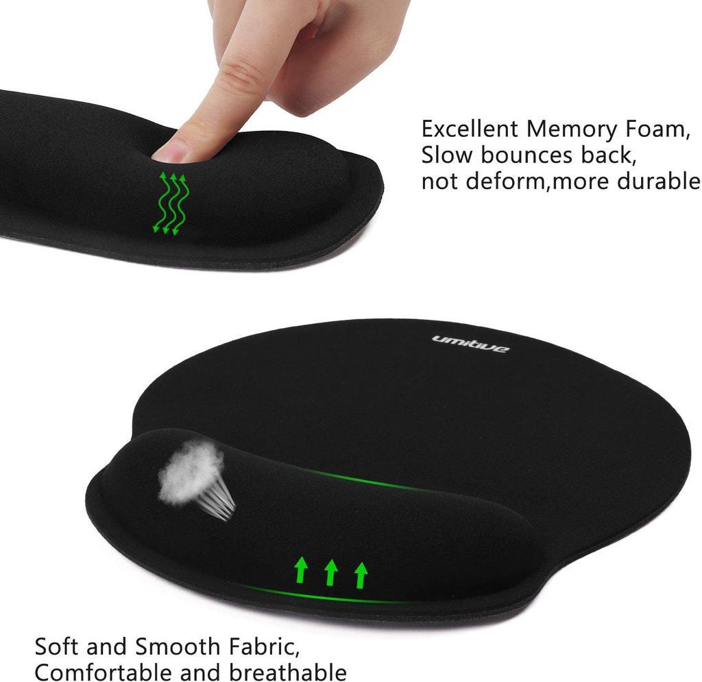 Reposamuñecas para teclado y ratón Umitive