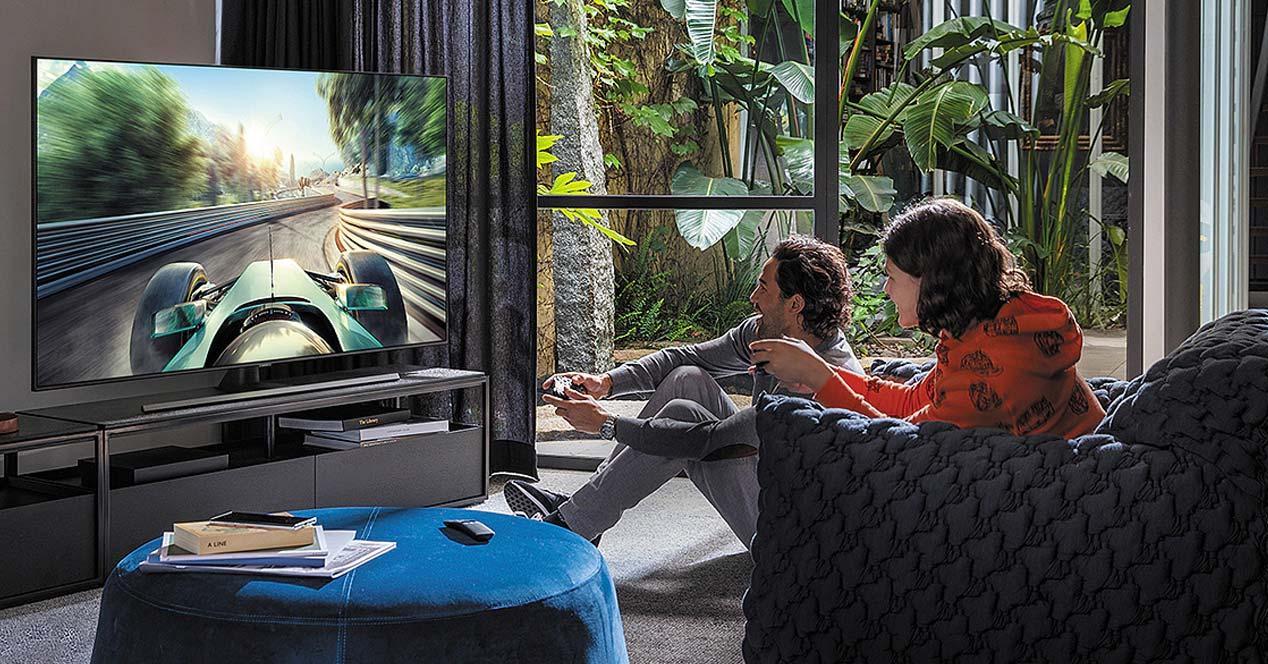 Uso de la Smart TV Samsung QE65Q75T