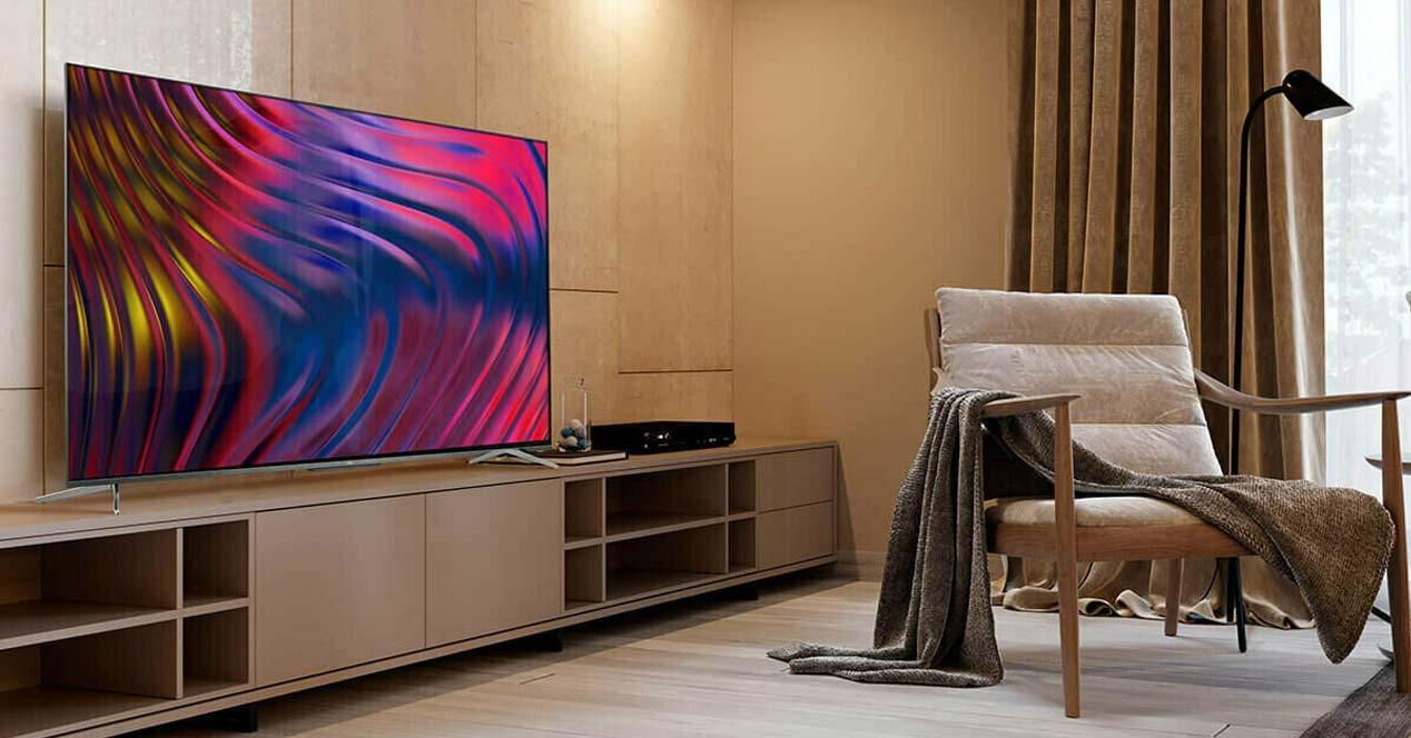 Uso de la Smart TV TCL 50C715