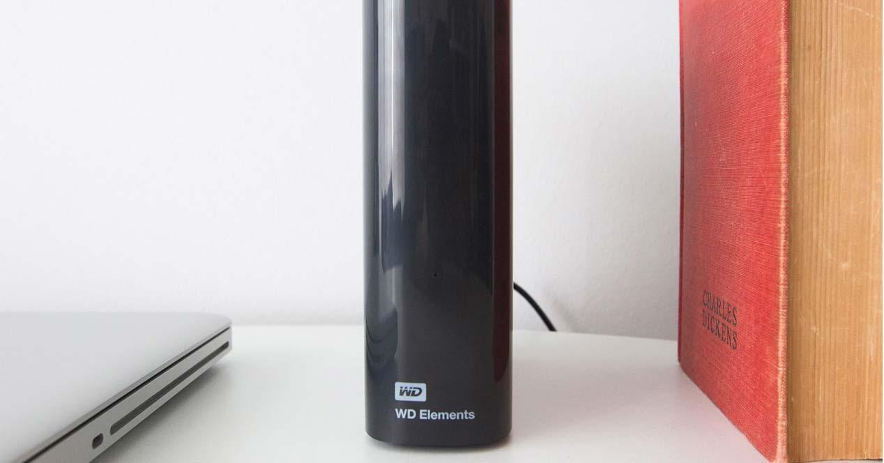 Uso de disco externo WD