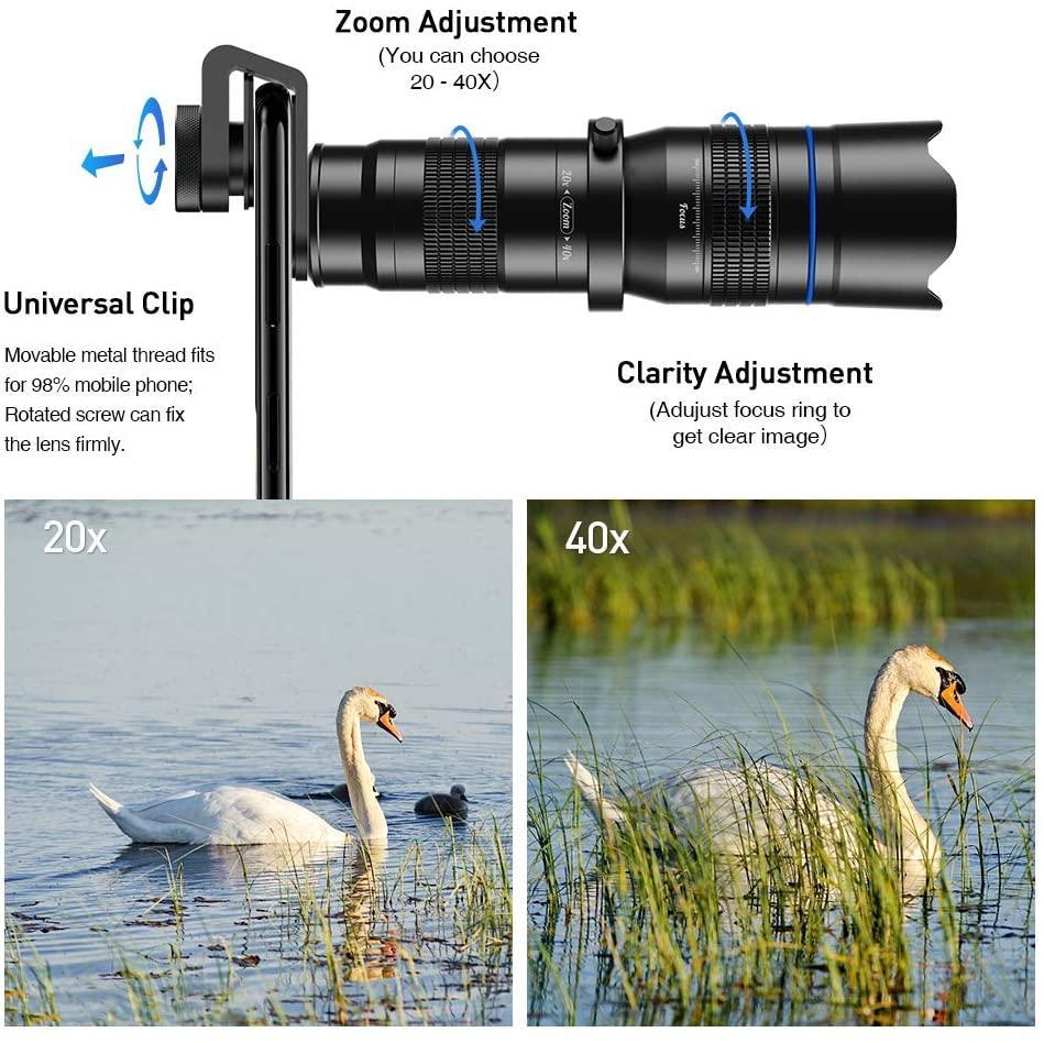 Apexel phone lens