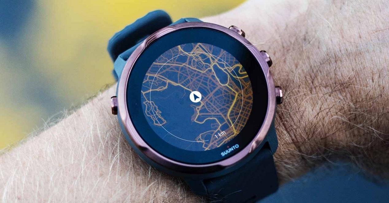 Smartwatch con mapas