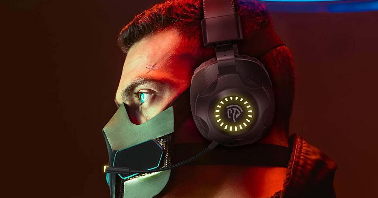 Uso de cascos gaming