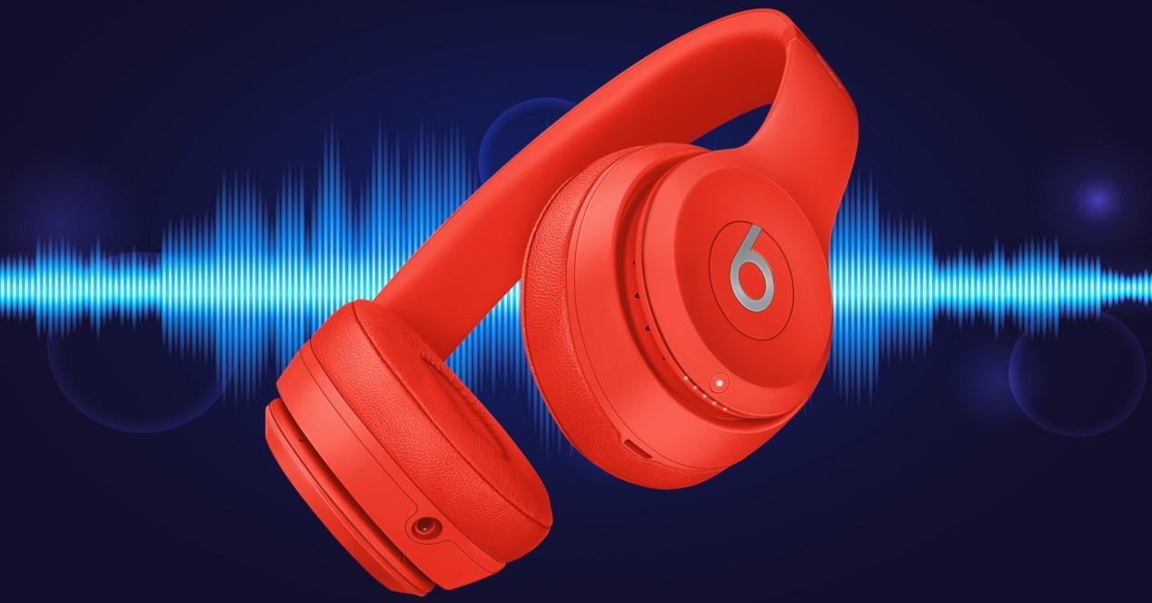 Beats Solo3 Wireless rojos