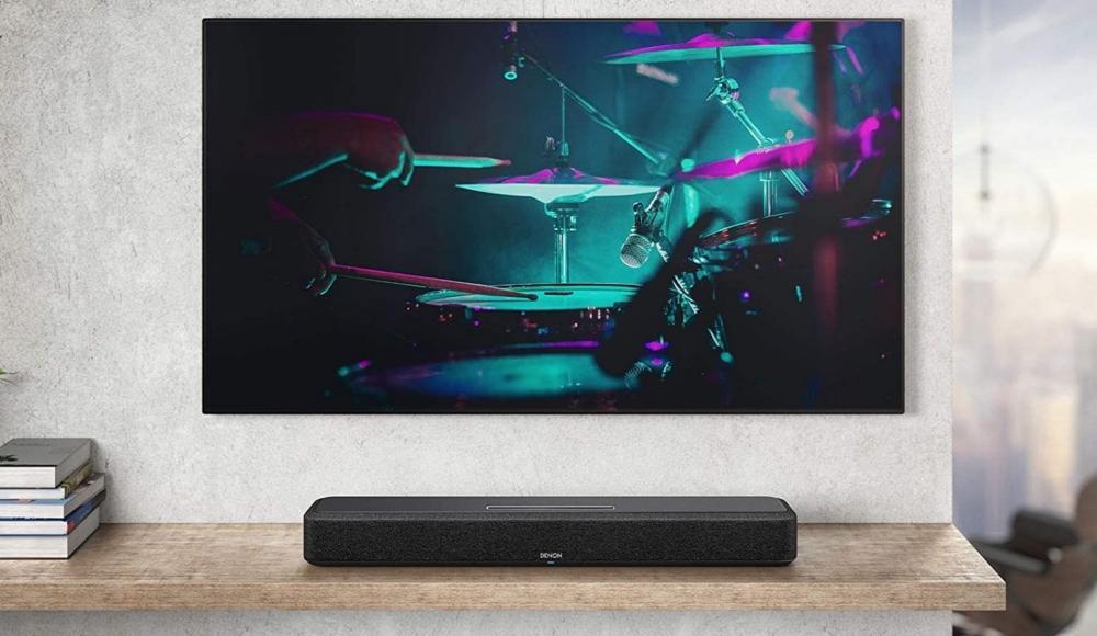 Denon Home Sound Bar 550 ja musiikki en la tele
