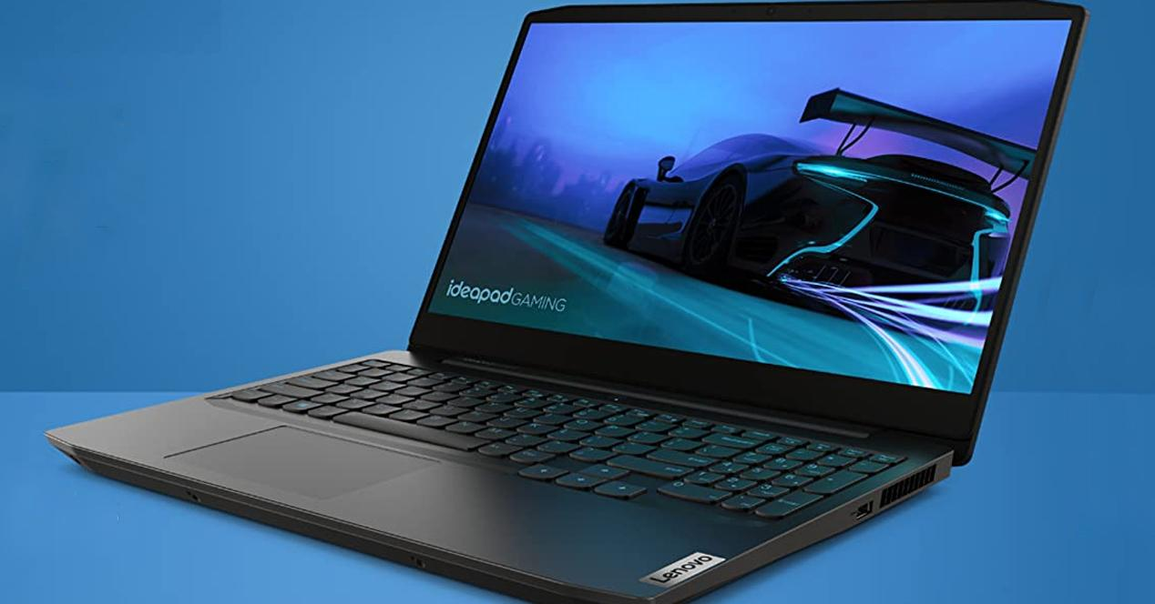 Portatil lenovo ideapad gaming 3