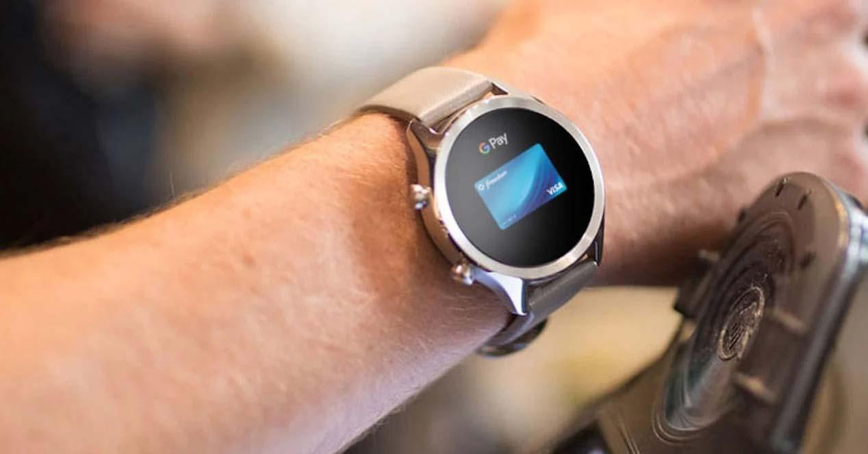Pagos con el smartwatch Ticwatch C2